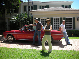 Family  with the Corvair